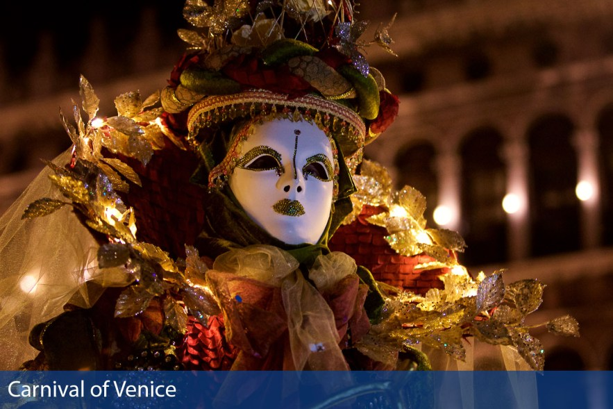 Carnival of Venice photographs taken by Chasing Light Media
