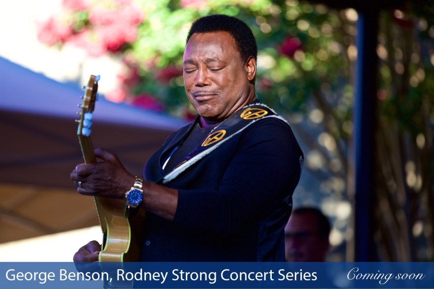 George Benson, Rodney Strong Summer Concert Series photographs taken by Chasing Light Media