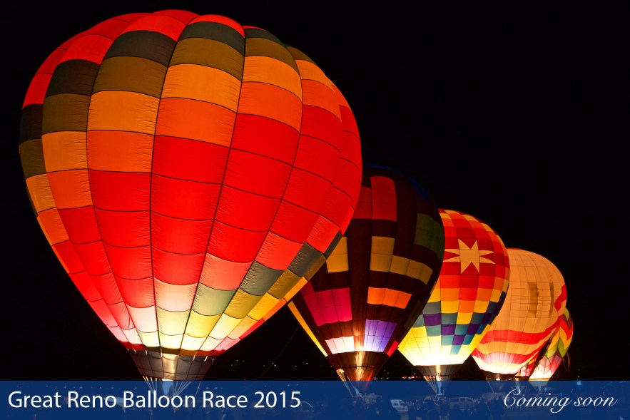 Great Reno Balloon Race 2015 photographs taken by Chasing Light Media