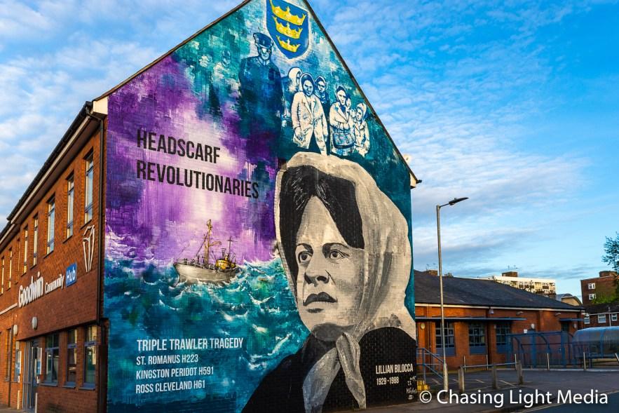 Lillian Bilocca mural, Hull, England