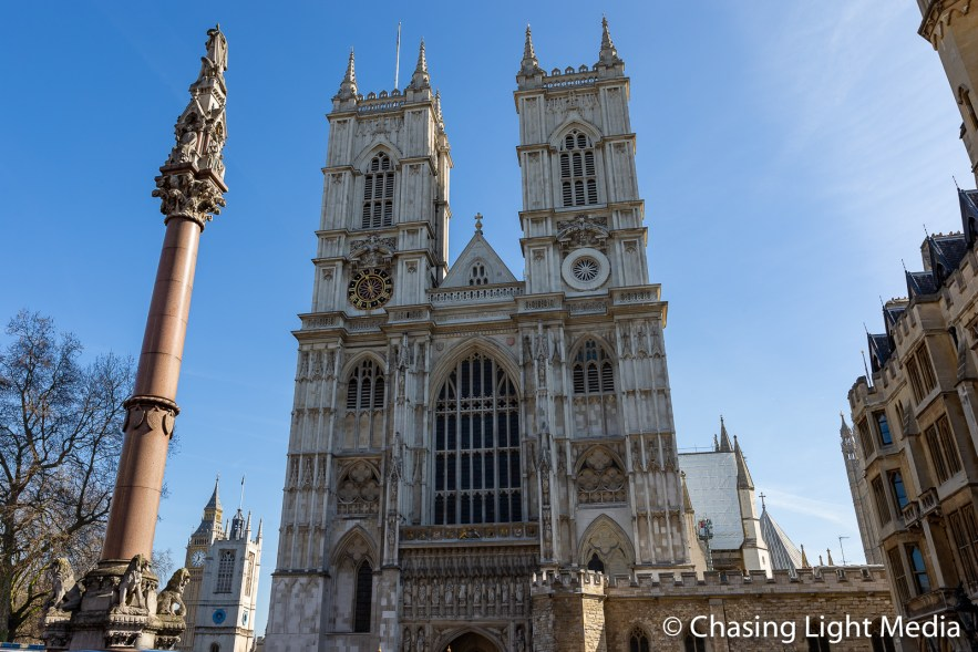 Western towers of Westminster Abbey, Westminster, England