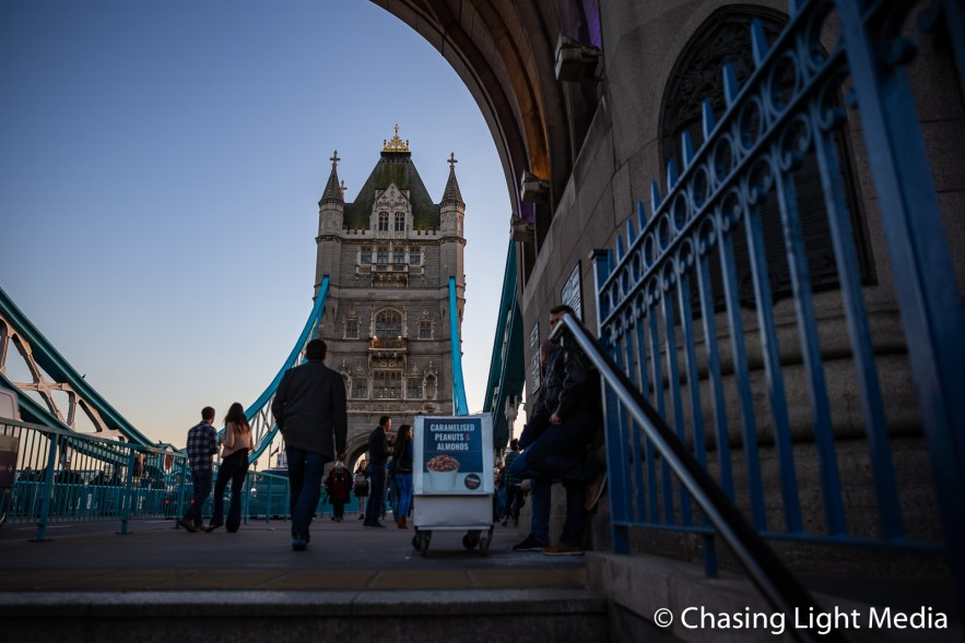 Tower Bridge concourse, London, England