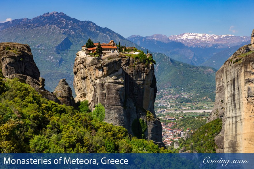 Monasteries of Meteora, Greece photographs taken by Chasing Light Media
