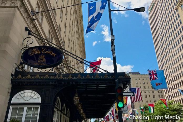 Ritz Carlton Montreal on Rue Sherbrooke, Montreal