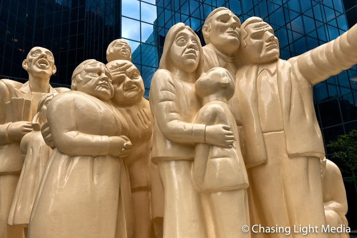 The Illuminated Crowd, Montreal, Quebec