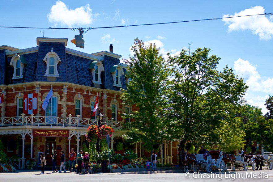 The beautiful streets of downtown Niagara-on-the-Lake