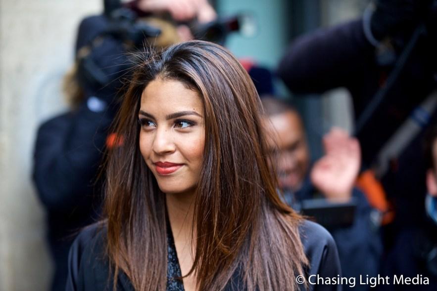 Chloe Mortaud, Miss France 2009, Paris Fashion Week 2017, Paris, France Photo: Kimberli Hull © Chasing Light Media