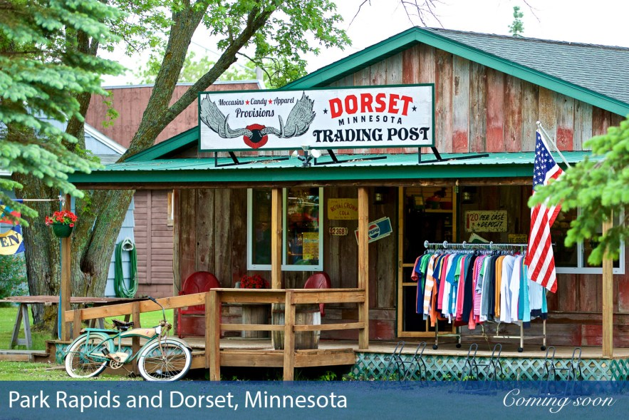 Park Rapids and Dorset, Minnesota photographs taken by Chasing Light Media