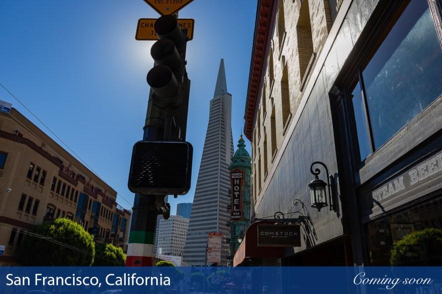 San Francisco, California photographs taken by Chasing Light Media