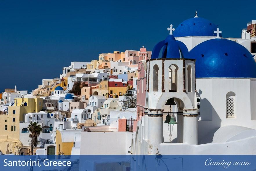Santorini, Greece photographs taken by Chasing Light Media