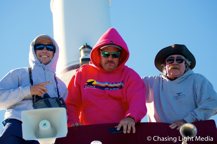 Alec, Aaron & Kenny of the Searcher crew
