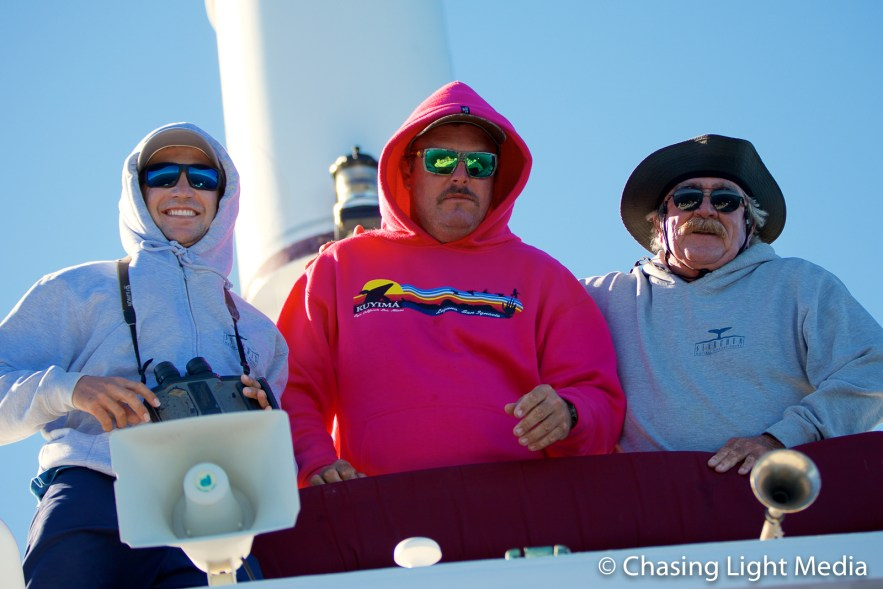 Kenny, Aaron and Alec of the Searcher crew