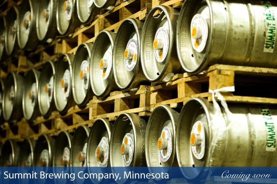 Summit Brewing Company, Minnesota photographs taken by Chasing Light Media