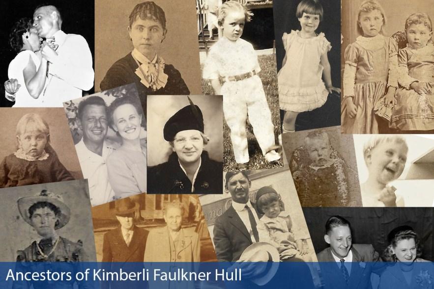 Kimberli Faulkner Hull ancestors