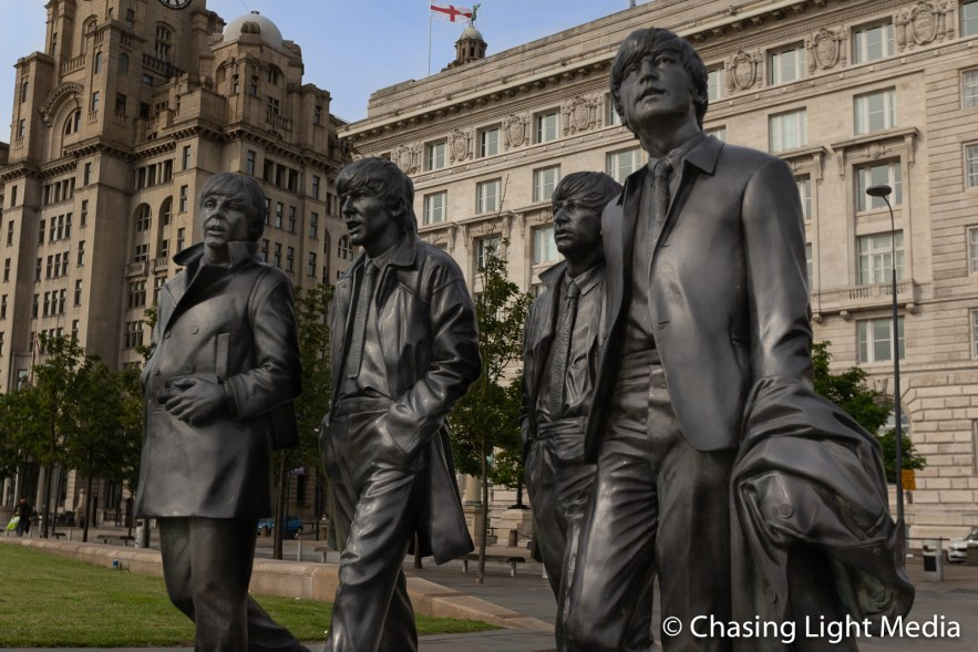 Beatles statues by Andy Edwards, Liverpool