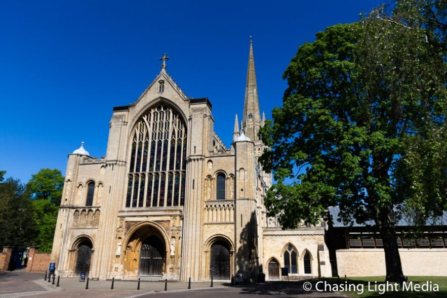 Norwich Cathedral in Norwich, England