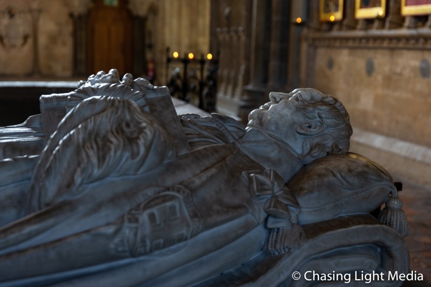 Bishop Sumner's tomb, Winchester Cathedral