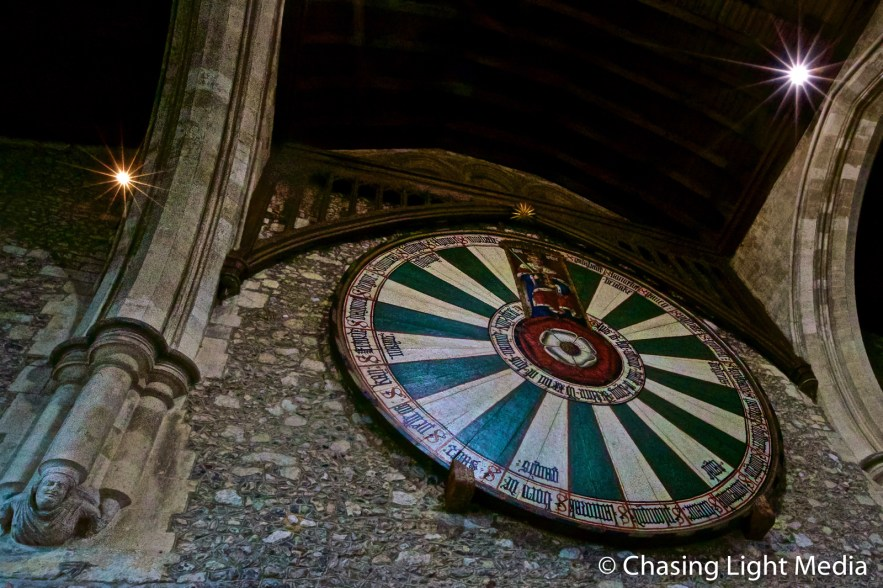 King Arthur's Round Table replica at Winchester Castle