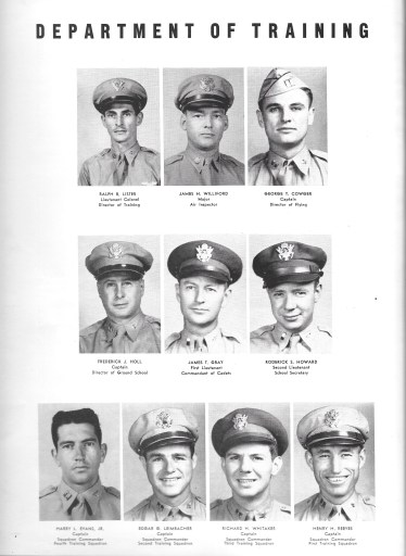 Independence Army Flying School 1943 Yearbook, Independence Army Air Field, Independence, Kansas Department of Training