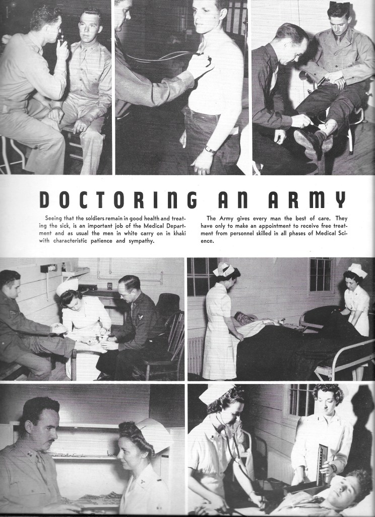 Independence Army Flying School 1943, Doctoring an Army