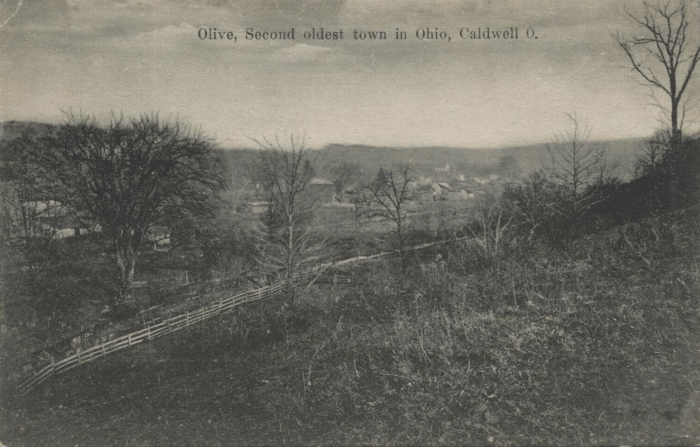 Olive Township, Noble County, Ohio postcard, ca. 1905