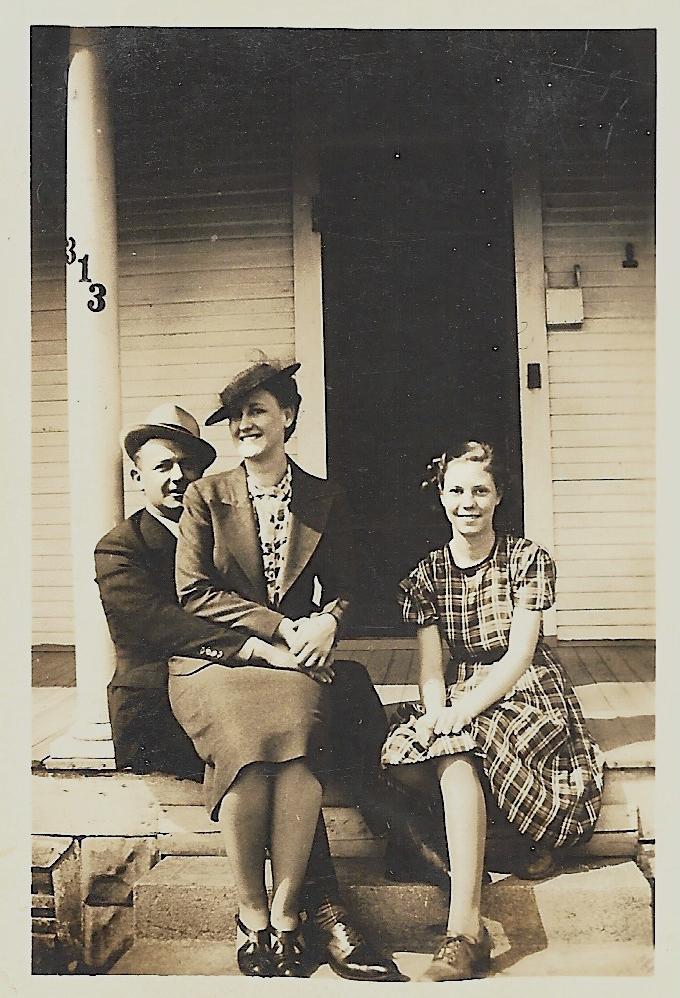 Hanley Baird, Eleanor Phillis Baird, Evelyn Phillis, ca. 1940