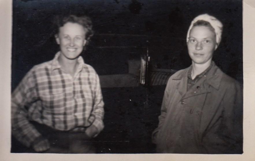 Eleanor Phillis Baird and Evelyn Phillis, ca. 1940s