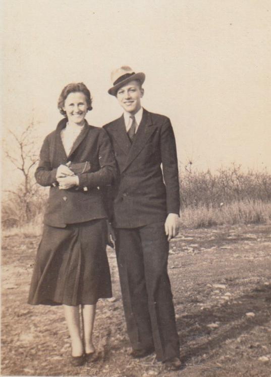 Eleanor Phillis Baird and Harold Fred Phillis, ca 1940s