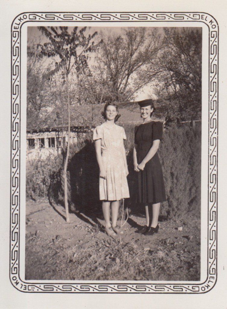 Evelyn Phillis and Eleanor Phillis Baird, ca 1940s, Independence
