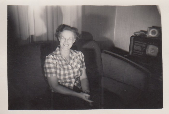 Eleanor Phillis Baird, ca. 1950s.