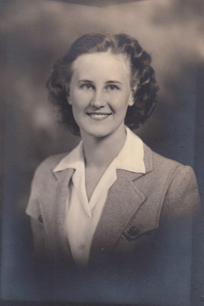 Eleanor Marie Phillis Baird, ca. 1950s.