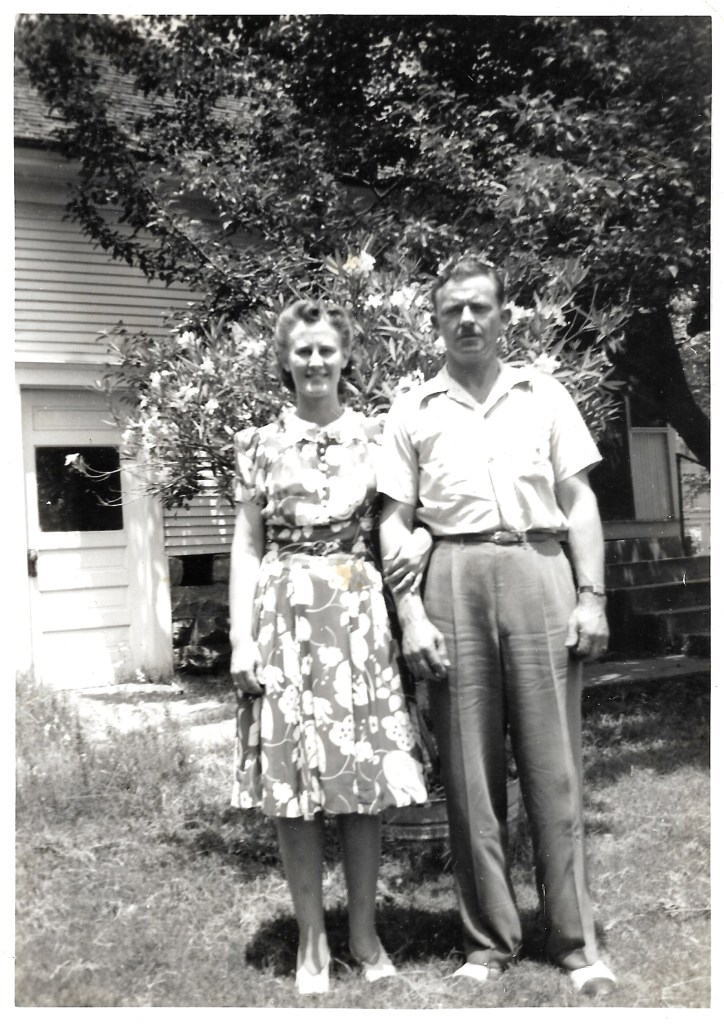Eleanor and Hanley Baird, 1950s, location unknown