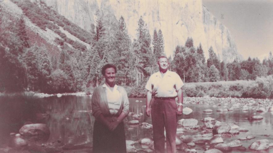 Eleanor and Hanley Baird, Lake Tahoe, ca. 1950s