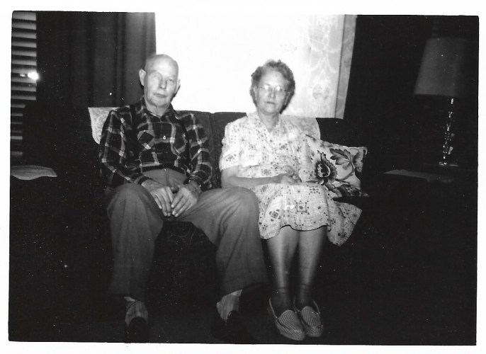 William and Myrtle Phillis, not dated, ca. 1950s, Independence,