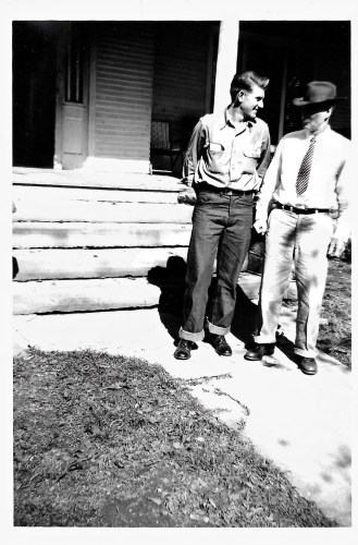 W. W. Phillis and unknown person, 24 Oct 1951