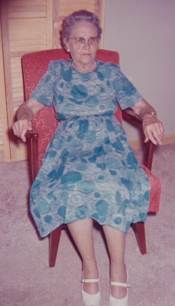 Myrtle Hooper Phillis, 1962, Independence, Kansas