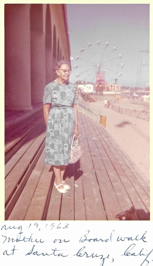 Myrtle Phillis, Santa Cruz, California, 1963