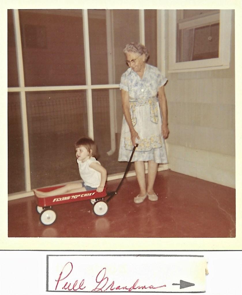 Kimberli Faulkner and Myrtle Phillis, 1965