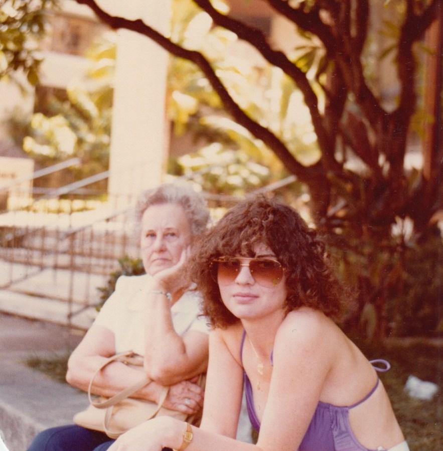 Eleanor Baird and Kimberli Faulkner Hull in Hawaii
