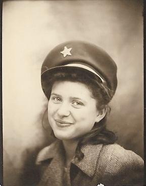 Betty Lou Faulkner, ca. 1940- Faulkner-Hull Family Papers, privately held by Kimberli Faulkner Hull.