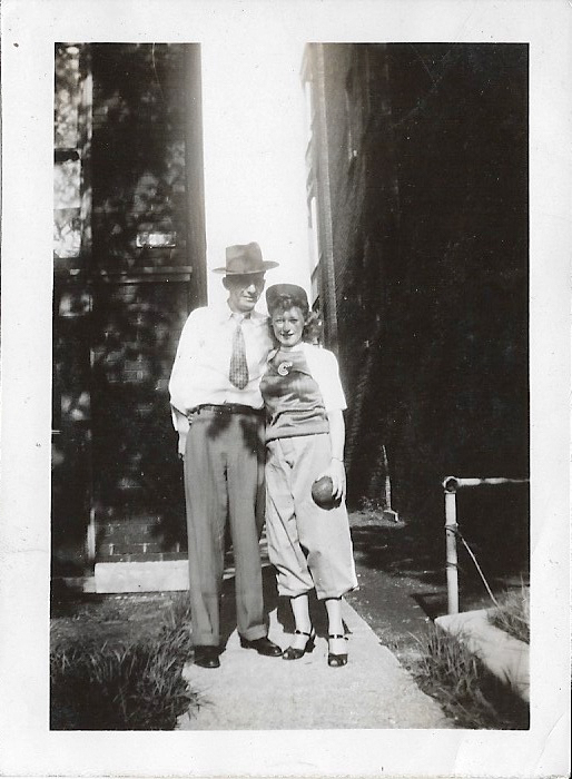 Clarence and Lillian Faulkner in Chicago