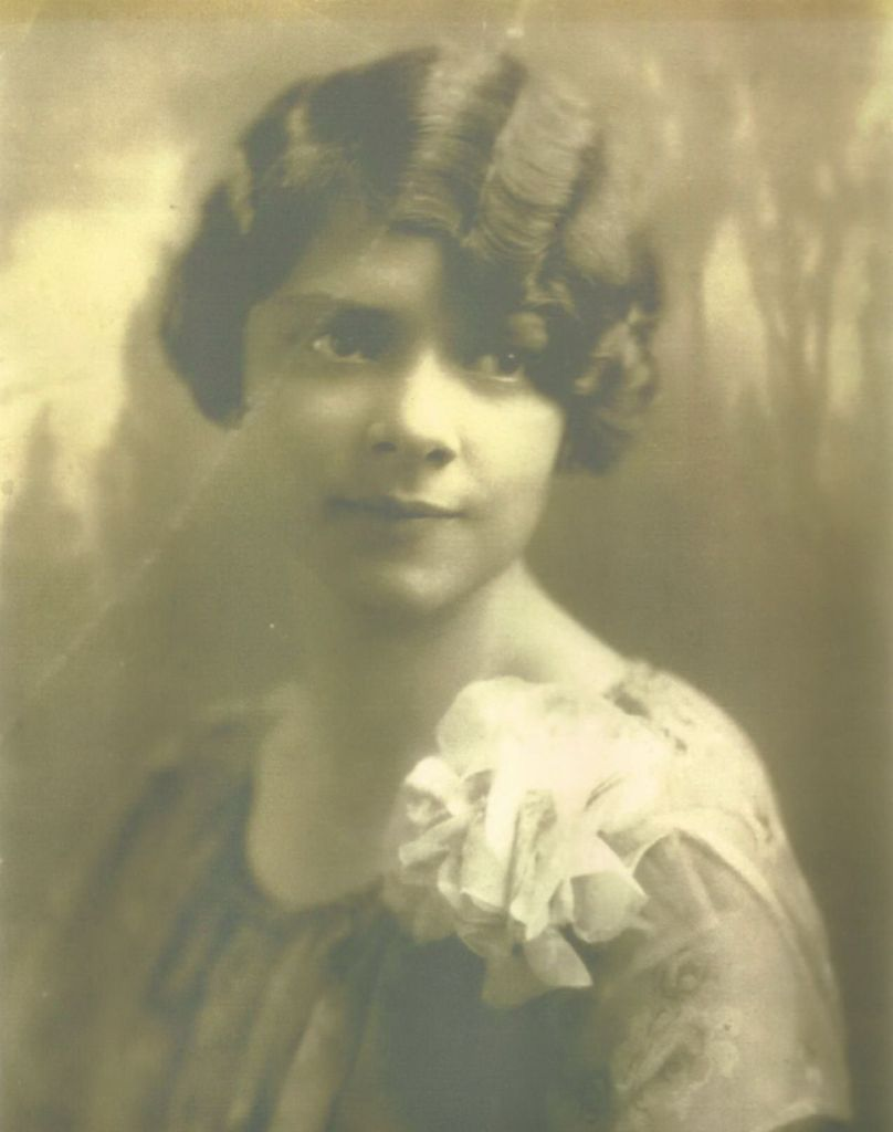 Frances May Faulkner Fancher. From the photo collection of Frances' daughter, Judith Hatch.