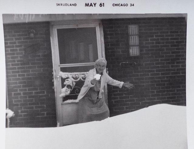 Lora Swafford Faulkner, ca. 1950s, privately held by Gene Faulkner; digital copy held by Kimberli Faulkner Hull.