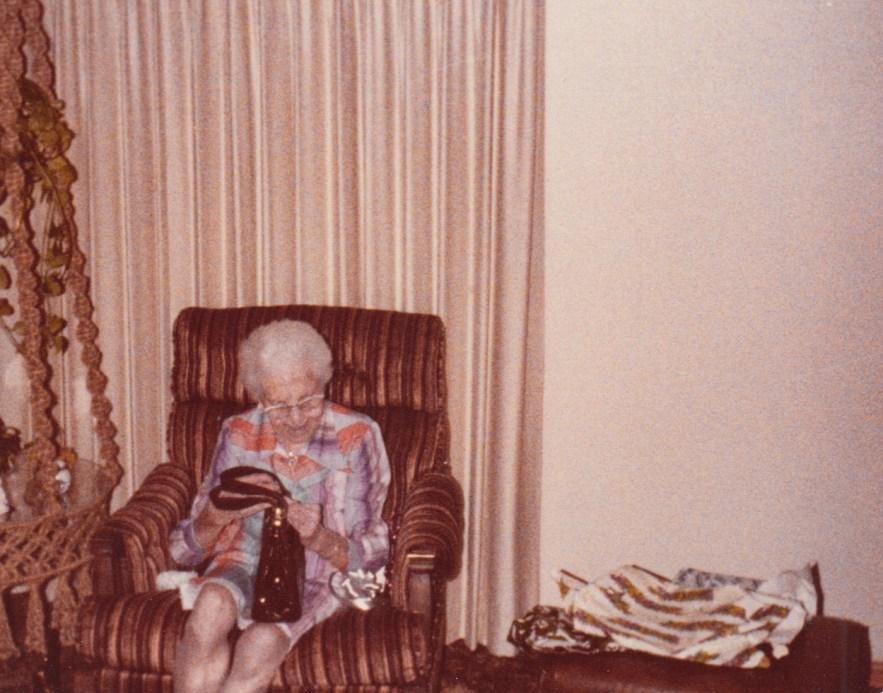 Myrtle Hooper Phillis, Christmas 1976