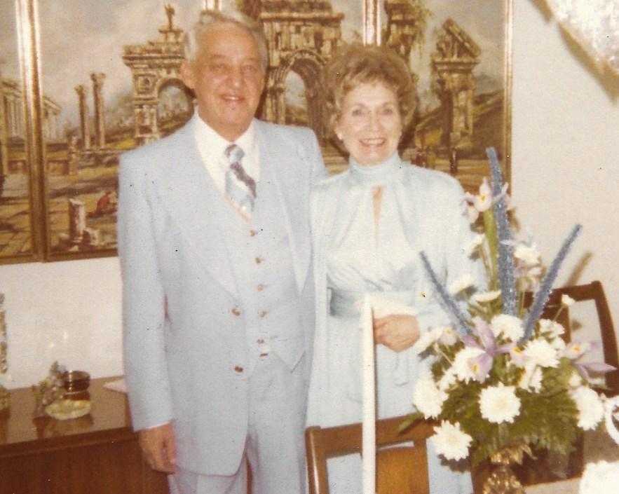 Phil and Dorothy Faulkner wedding, 29 Jan 1977
