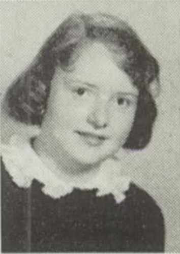 The Maroon 1957 (Chicago, Illinois, Hirsch High School Class of 1957), p. 55, Sophomore A's, Susanne Fancher.
