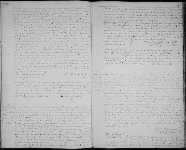 Bond County, Illinois, Deed Record, vol. E, p. 292, James D. and Elizabeth Hooper to Cyrus H. Stephens, 16 Nov 1839.