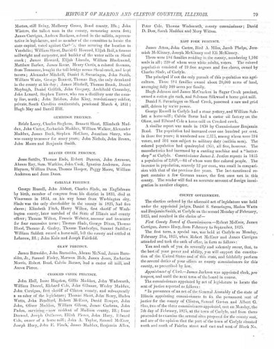 History of Marion and Clinton Counties, Illinois (Philadelphia, Brink, McDonough and Co. : 1881), p. 79, Clinton County, Thomas Hooper.