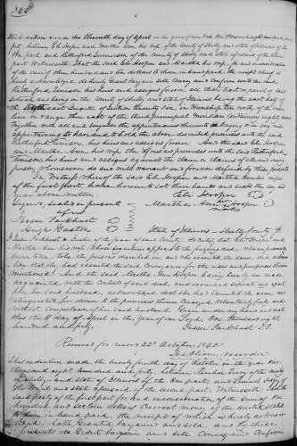 Shelby County, Illinois, Deed Record, vol. 4, p. 344, Eli and Martha Ann Hooper to Rutherford Tenison, 11 Apr 1840. Consideration $310. 80 acres. Recorded 22 Oct 1840.