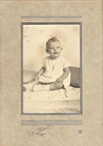 Hanley Solease Baird, ca. 1905, Independence, Kansas